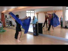 azad kaan, BASEL / SUISSE, male bellydance, modern veil choreography with Azad Kaan - YouTube