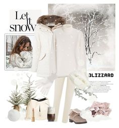 """Blizzard"" by rever-de-paris ❤ liked on Polyvore featuring Sage & Co., Brunello Cucinelli, Woolrich, Michael Kors, King & Fifth Supply Co., Stuart Weitzman, Maison Margiela, Jardin des Orangers, Gucci and Dolce&Gabbana"