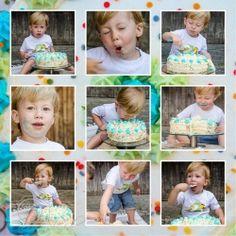 Cake Smash 2. Geburtstag