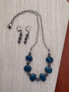 Homa Bay set Kazuri Beads by ScarletMareStudio on Etsy, $52.00