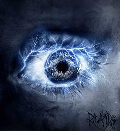 Eye Elements: Lightning by tvlookplay on DeviantArt Lightning Final Fantasy Xiii, Lightning Drawing, Mileena, Neue Tattoos, Photos Of Eyes, Crazy Eyes, Magic Eyes, Look Into My Eyes, Himmelblau