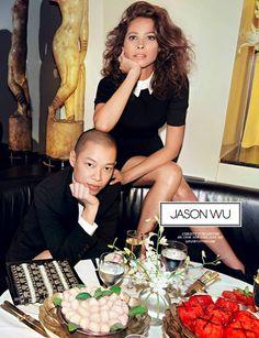 Campañas publicitarias moda otoño invierno 2013 2014 - Jason Wu - Christy Turlington