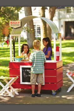 This is a cute fun thing for kids to do in the summer