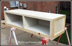 diy Design Fanatic: Pottery Barn Knockoff Storage Bed Finished with the Finish Max Sprayer