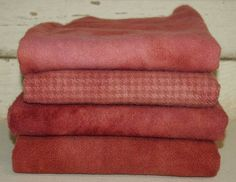 VINTAGE DRIED ROSE hand-dyed by Wool-N-Wares @ http://stores.shop.ebay.com/wool-n-wares