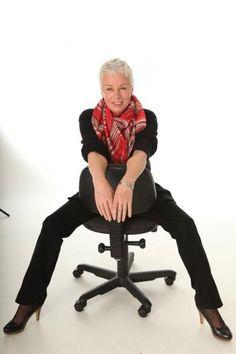 60-year-old German model, Elisabeth