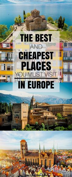 From Spain to Macedonia, Poland to Slovenia, these are the cheapest places to travel in Europe in 2017.  #TravelTips