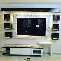 Lattes tv cabinet Modern Tv Unit Designs, Modern Tv Wall Units, Living Room Tv Unit Designs, Tv Unit Decor, Tv Wall Decor, Bedroom False Ceiling Design, Modern Bedroom Design, Modern Bedrooms, Lcd Wall Design
