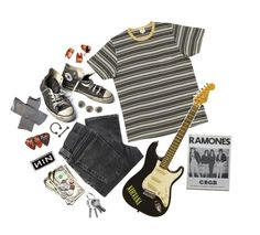 """""""serve the servants // nirvana"""" by trashpunk ❤ liked on Polyvore featuring Nudie Jeans Co. and Converse"""