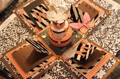 Exploding Box Cards- fun paper craft project!