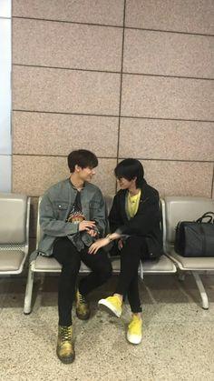 China line make my day Junhao sweet :) Woozi, Mingyu Wonwoo, Seungkwan, Vernon, Diecisiete Memes, Astro Sanha, Day6 Sungjin, Seventeen Minghao, Hip Hop