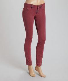 Another great find on #zulily! Red Vienna Skinny Jeans #zulilyfinds