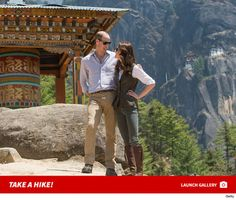 Prince William & Kate Middleton Nestle Tiger's Nest...: Prince William & Kate Middleton Nestle Tiger's Nest #WarriorsGame #Prince #Prince…
