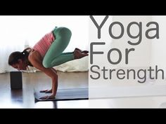 Yoga for Strength with Lesley Fightmaster and Shireen Kavianian - YouTube