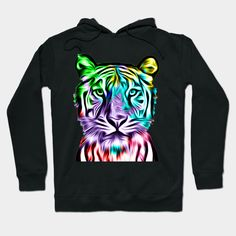 """Grab this awesome """"Colorful Tiger Head"""" design now, and show it off to your family and friends. #clothesph #tshirts #clothesshop #tees #brand #clothesline #babygirlclothes #winterclothes #fashion #clothesmentor #blytheclothes #clothes #babyboyclothes #apparel #fitnessapparel #trendyclothes #blackclothes #cuteclothes #menclothes #womenclothes #style #stylish #tshirtstyle #mentshirt #tshirtstore #tshirtshop #tshirtslovers Tiger Art, Tiger Head, Trendy Outfits, Cute Outfits, T Shirt Yarn, Tshirts Online, Baby Boy Outfits, Cool T Shirts, Graphic Sweatshirt"""