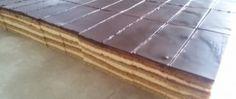 Medové řezy s čokoládovou polevou
