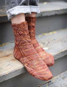 Ravelry: Sybaritic pattern by Hunter Hammersen Girafa Knitting Socks, Hand Knitting, Knitting Patterns, Knit Socks, Yoga Socks, Knitting Charts, Knitting Projects, Ravelry, Little Cotton Rabbits