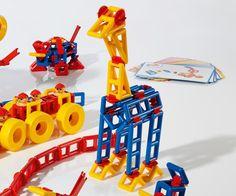Georello Toolbox: Bouw 3D bewegende structuren :: educatief