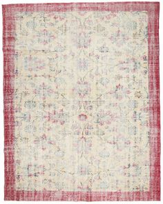 Colored Vintage tapijt 226x289