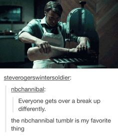 Hannibal humor | Getting over a breakup