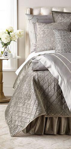 Lili Alessandra Chloe Velvet Coverlet #designerbedding #luxurybedding
