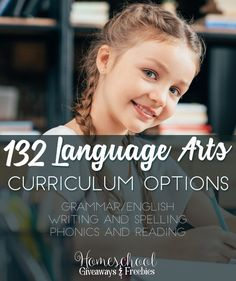 Over 130 Language Arts Curriculum Options