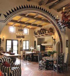 Hacienda-Kitchen | Indeed Decor