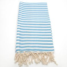 Authentic Pestemal Fouta Turquoise Blue Turkish Cotton Bath/ Beach Towel | Overstock.com Shopping - Top Rated Bath Towels