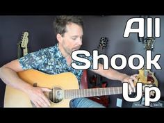 How To Play All Shook Up By Elvis Presley - Guitar Lesson - YouTube