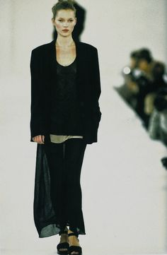 Calvin klein only fashion, fashion, spring fashion, runway fashion, vintage Minimal Fashion, Urban Fashion, 90s Fashion, Runway Fashion, Spring Fashion, Vintage Fashion, Kate Moss, Calvin Klein Collection, Silhouette