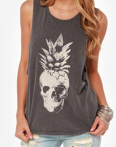 pineapple skeleton muscle t