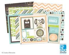 Fluffy and Fido digital content.  #scrapbooking
