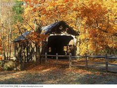 This covered bridge is so beautiful!! I love covered bridges!!