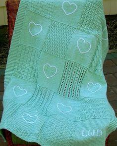B-101 Love-to-Knit Sampler Blanket