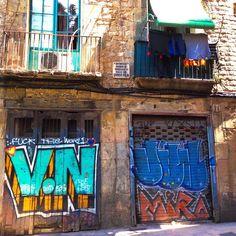 Beautiful Barcelona Street #Barcelona #Spain #Instagram #instamazing #streetart #lonelyplanet #travel #holiday #vacation #Fun #adventure #culture #love #lovetheworld #Espana #tapas #greatfood #graffiti #cities #beautifuldestinations #awesome #explore #nik Barcelona Street, Barcelona Spain, Fun Adventure, Lonely Planet, Tapas, Cities, Graffiti, Street Art, Culture