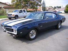 1969 Oldsmobile 442 , when i was 8 i saw this car in my neighbors drive way and new i wanted one !