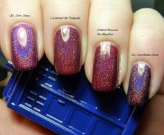 Comparison Request: Enchanted Polish Mr. Burgundy vs Pahlish Blood of the Mountain | Pointless Cafe
