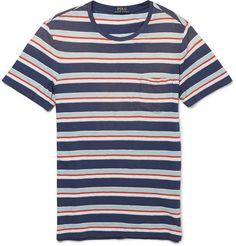 Polo Ralph Lauren Striped Cotton-Jersey T-Shirt | MR PORTER
