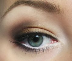 subtle neutral look for everyday using brown, gold, and white