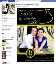 how-to tuesday... Facebook landing pages :: greensboro wedding photographer — glessner photography