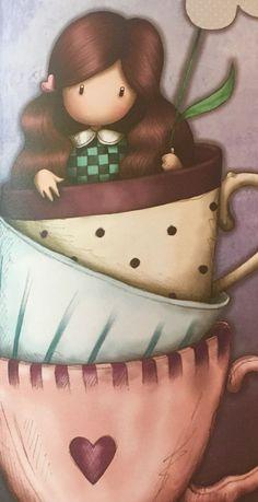 Print Pictures, Cute Pictures, Paper Dolls, Art Dolls, Santoro London, Pebble Painting, Cute Cartoon Wallpapers, Cute Images, Copics
