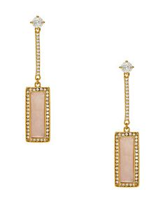 madison ave. catch a spark linear earrings