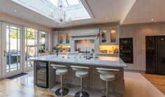Fantastic Kitchen Ceiling Design Ideas Kitchen Showroom Design Ideas With Images in ucwords] Kitchen Designs Photos, Best Kitchen Designs, Kitchen Images, Elegant Kitchens, Cool Kitchens, Contemporary Kitchens, Rustic Kitchen, New Kitchen, Kitchen Ceiling Design