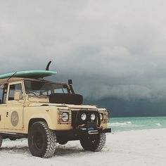 5-11-2015 Envy - Imagine sitting on this beach...any beach and having that view. #Landrover #landroverdefender #vsco #search #overland #dream #vscocam #onelifeliveit by ride.to.the.sea 5-11-2015 Envy - Imagine sitting on this beach...any beach and having that view. #Landrover #landroverdefender #vsco #search #overland #dream #vscocam #onelifeliveit