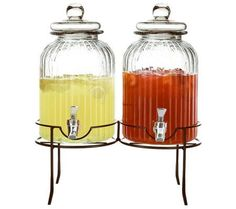 Product image of Springfield Glass Beverage Dispensers Set withStand