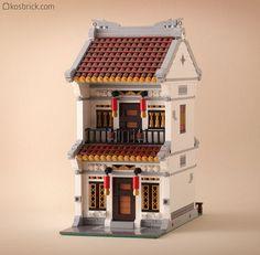 ~ Lego MOCs City ~ Residence House   by kosbrick