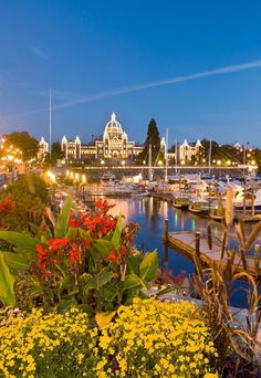 must go in August when all the flowers are in bloom  Victoria, British Columbia, Canada