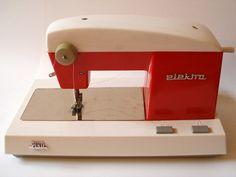 retro kids sewing machine adorable