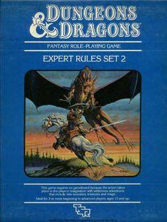 D&D Expert Set 2nd Edition Box