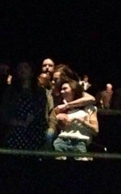 Harry Styles, Kendall Jenner  at Eagles concert